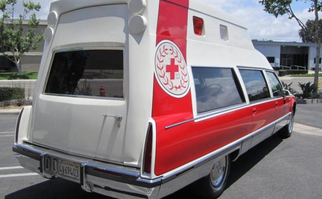 224 Mile Oddball: 1993 Cadillac Fleetwood Ambulance