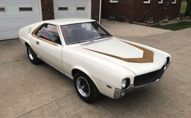Three Fast Letters: 1968 AMX Project