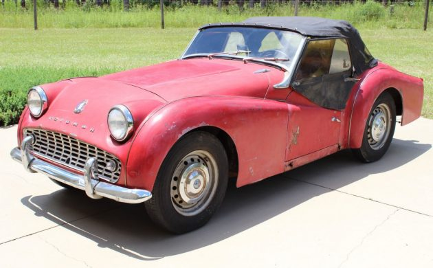 Oozing Uk Cool 1959 Triumph Tr3a