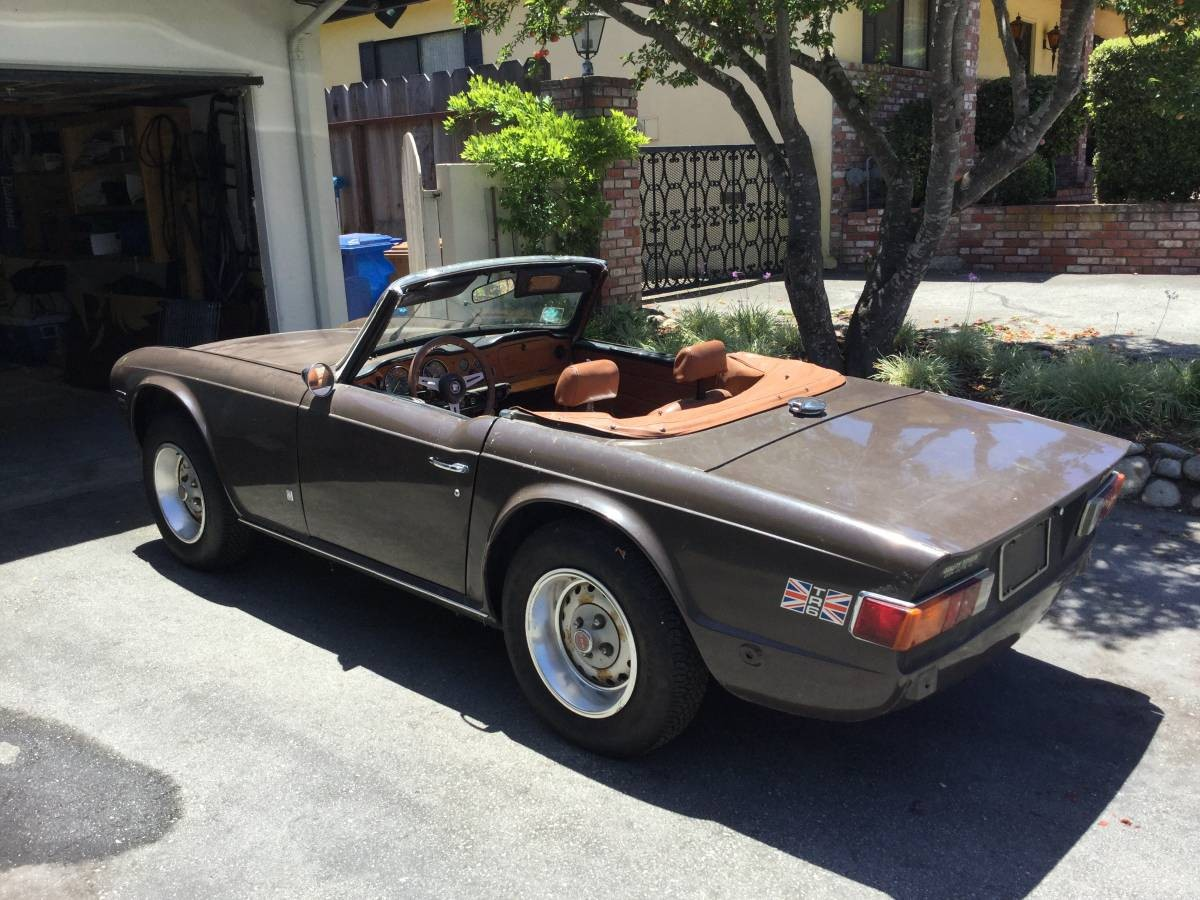 Some Assembly Required: 1973 Triumph TR6