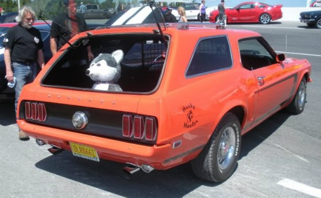 Canadian 1969 Ford Mustang Station Wagon