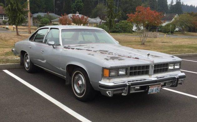 Grandfather's 1977 Pontiac Grand LeMans