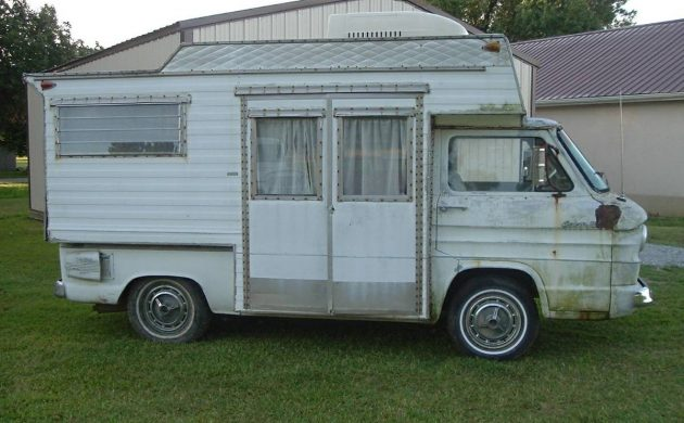 One Of Fourteen? 1963 Corvair Motor Home