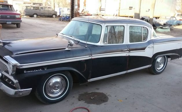 Hail To The Chief: 1956 Studebaker President Classic