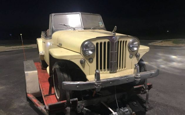 14 Year Slumber 1949 Willys Overland Jeepster