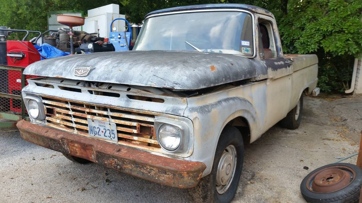 Bargain Project? 1964 Ford F100 $1,770