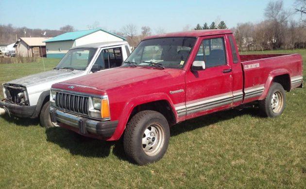 Truck Trifecta: Three Jeep Comanche Pickups