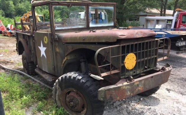 Two Tired Trucks: 1952 And 1953 Dodge M37s