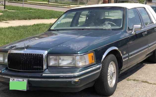 Golden Bear Edition 1992 Lincoln Town Car