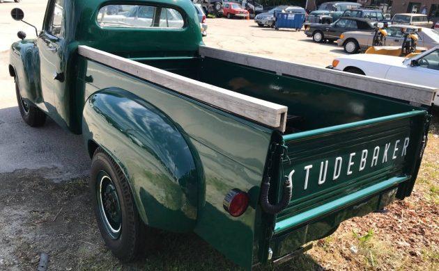 Green Workhorse: 1952 Studebaker 3/4 Ton Truck