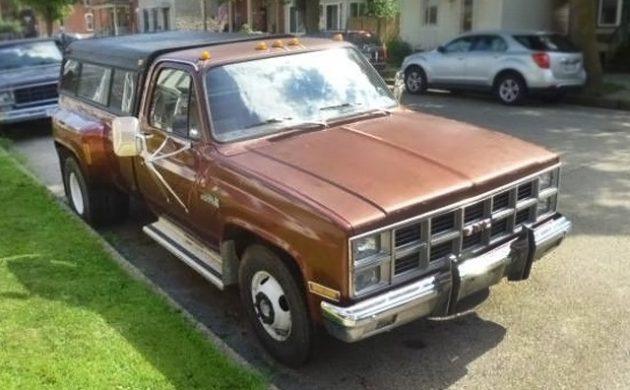 454 V8 and 4-Speed: 1982 GMC High Sierra 3500