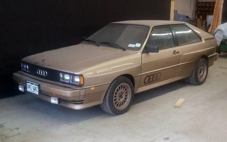 Uber-Rare: 1982 Audi Quattro Turbo Coupe