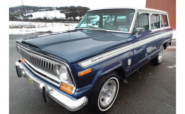 Choice Cherokee: 1977 Jeep Cherokee