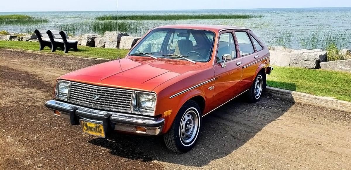41 000 miles 1981 chevrolet chevette. Black Bedroom Furniture Sets. Home Design Ideas