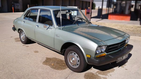Oklahoma Francophile 1978 Peugeot 504 Diesel