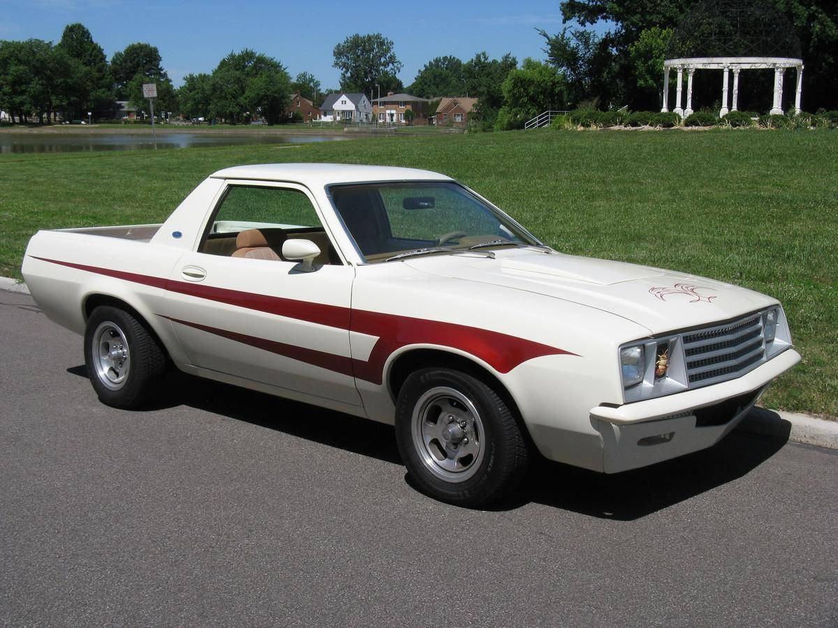 Power Packed Pinto Pickup: 1980 Ford Pinto