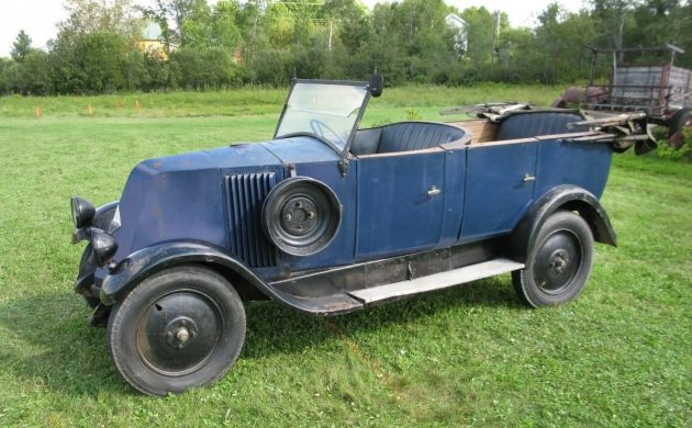 40 Years in a Barn: 1924 Renault NN1 – 6CV