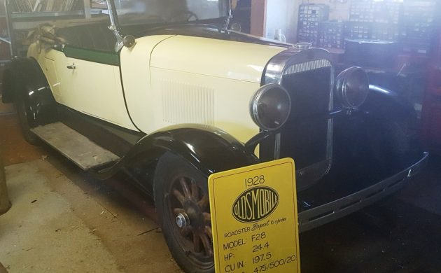 Exclusive: 1928 Oldsmobile F28 Roadster