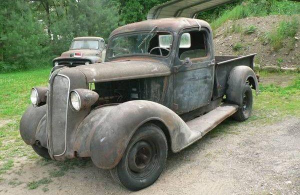 Swayback Express: 1937 Plymouth PT50 Pickup