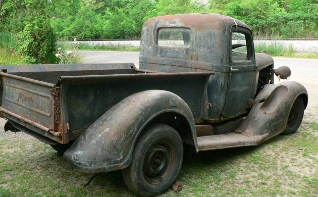 Swayback Express: 1937 Plymouth PT50 Pickup