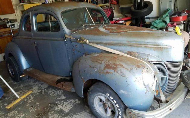 Gasser Barn Find! 1940 Ford Deluxe Coupe