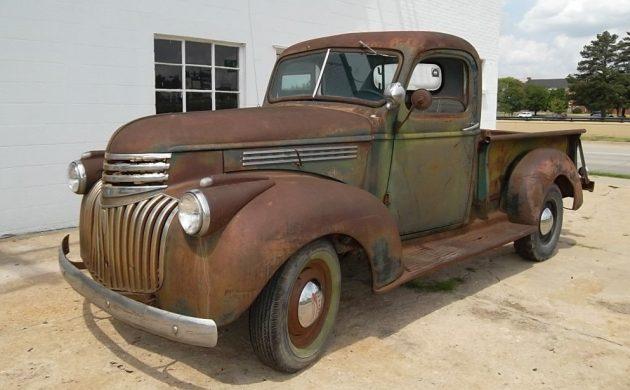 Farm Truck Hot Rod? 1946 Chevrolet Pickup