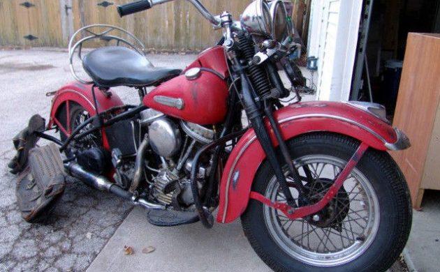 Vintage V-Power: 1948 Harley Davidson Panhead