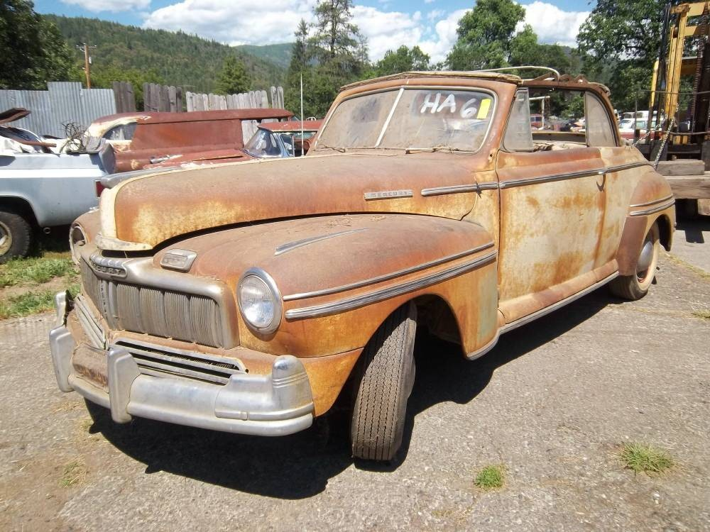 Ford S Next Step Up 1948 Mercury Convertible