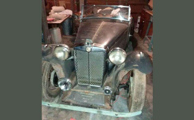 Post War Sports Car: 1949 MG TC
