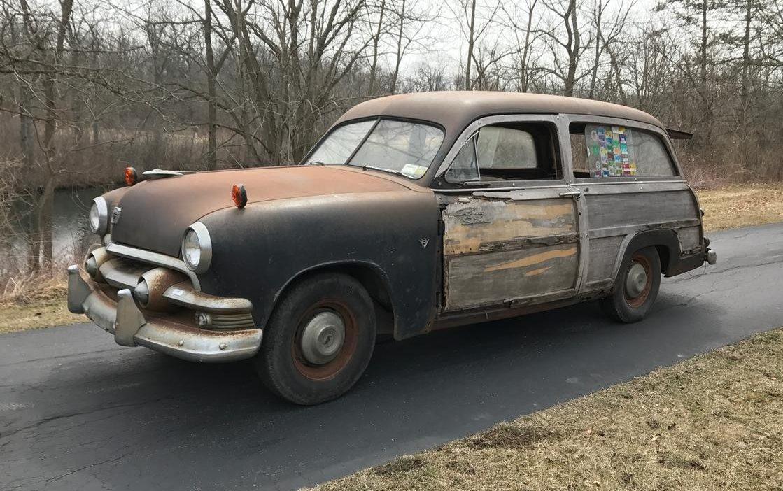 Meet Woodrow 1951 Ford Woodie Wagon