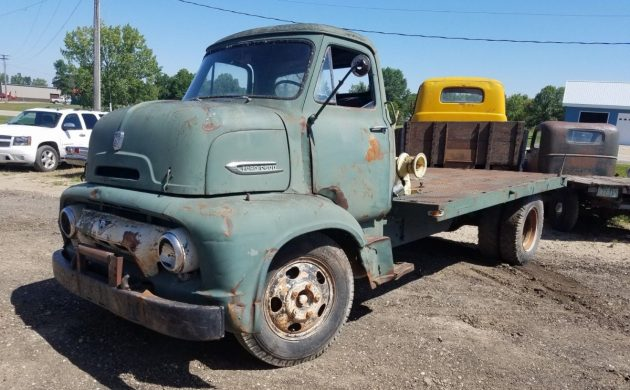 Work Left To Do: 1954 Ford C600 Truck