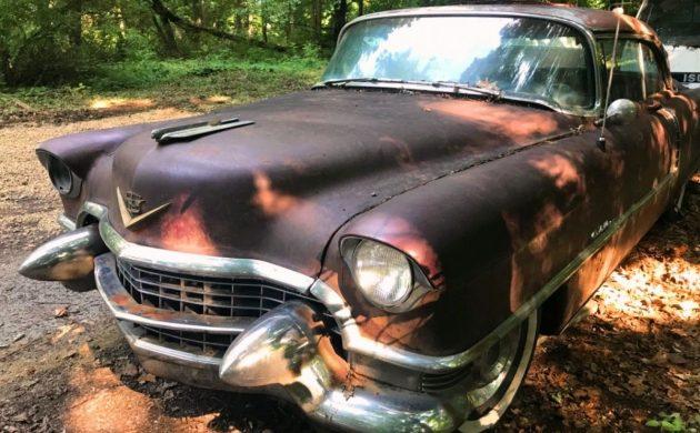 40 Years In A Barn 1955 Cadillac Coupe De Ville. 1955 Cadillac Coupe De Ville. Cadillac. 55 Cadillac Wiring Seat At Scoala.co