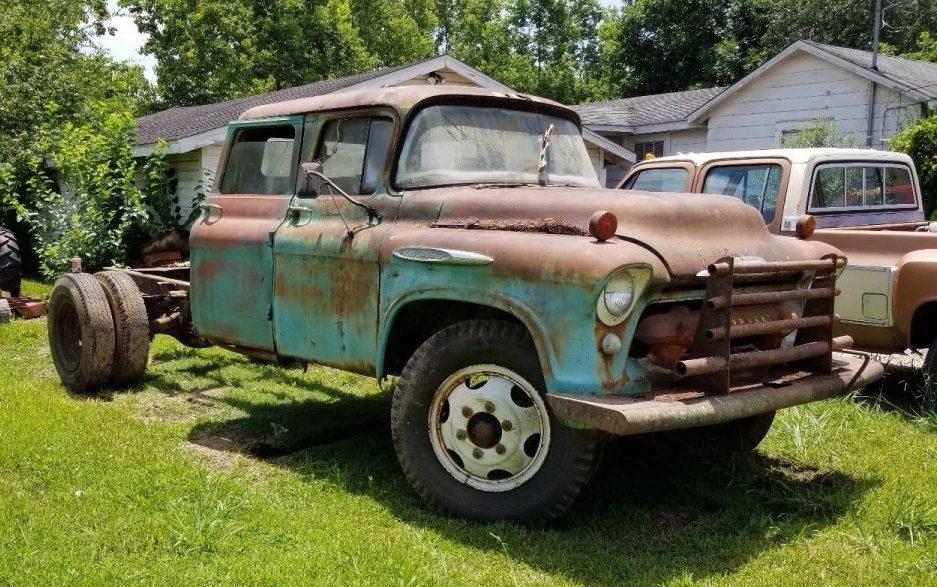 Tri-Door Tri-Five: 1957 Chevrolet Crew Cab