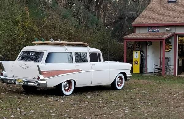 Survivor Surfer: 1957 Chevrolet 210 Wagon