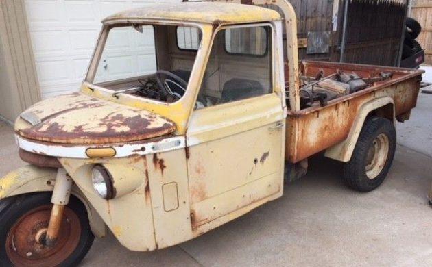 Never Seen One: 1960 Mitsubishi Go Pickup