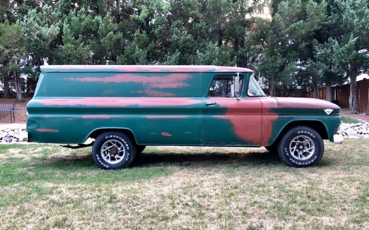 Looong Panel Truck 1962 Gmc Carry All