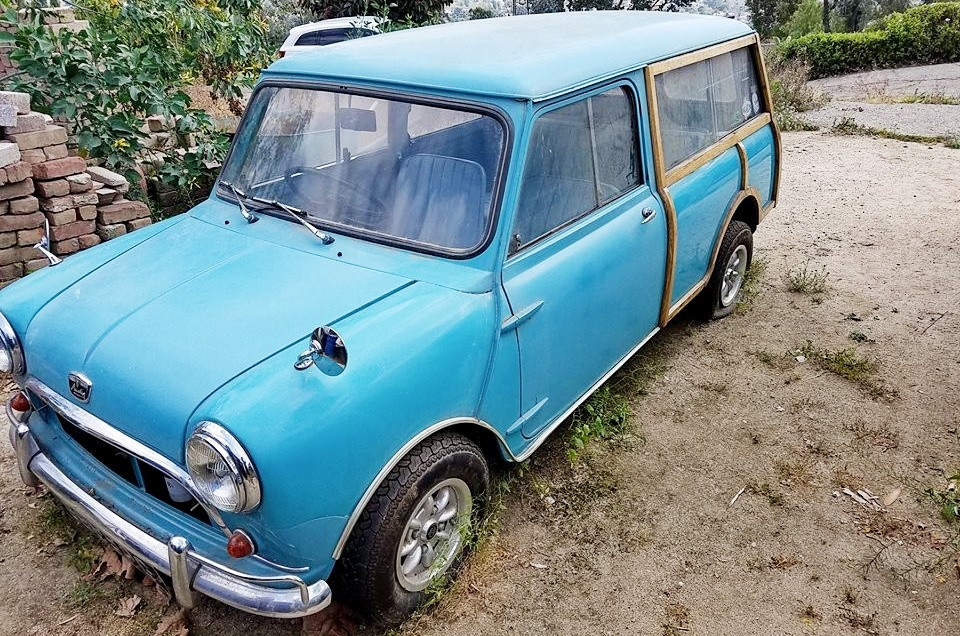 Reader Ad 1964 Austin Mini Countryman