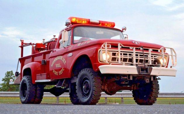 Quick Attack Survivor: 1965 Ford F-350 Fire Truck