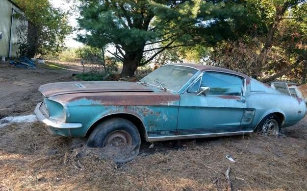 Rescued Pony Car: Mustang GT 390 Fastback