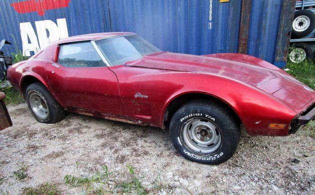 Highly Optioned Roller: 1974 Chevrolet Corvette