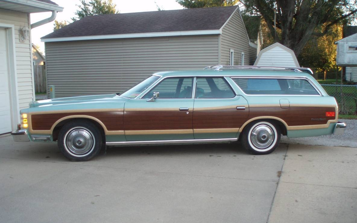 Last of the Breed: 1977 Ford Country Squire Wagon