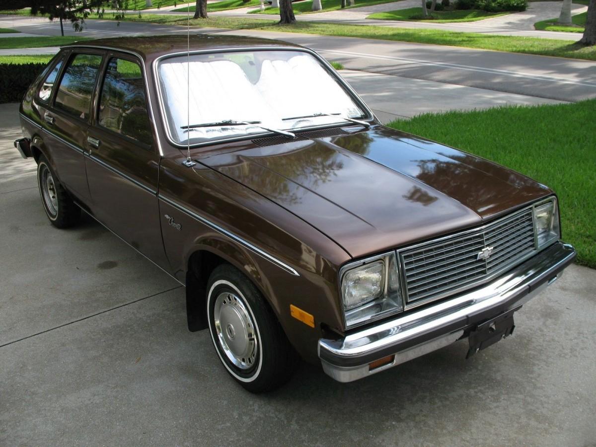 Little Brown Chevette: 1979 Chevrolet Chevette