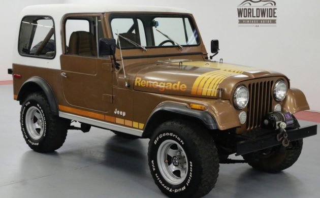 Brown Beauty: 1980 Jeep Renegade
