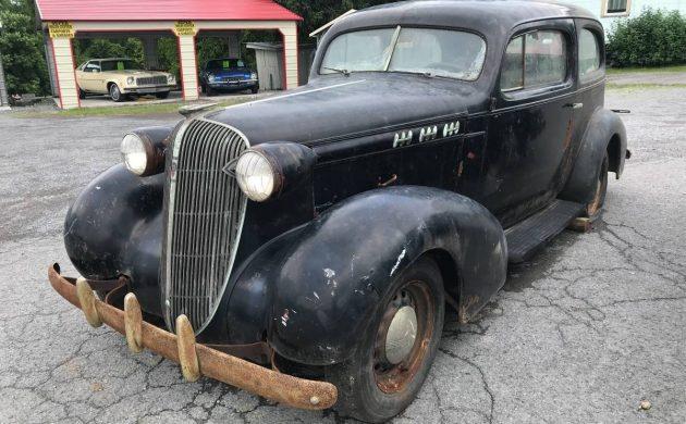 Dry Storage Time Capsule: 1936 Oldsmobile