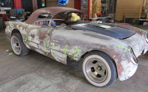 Hot Rod Potential: 1954 Chevrolet Corvette