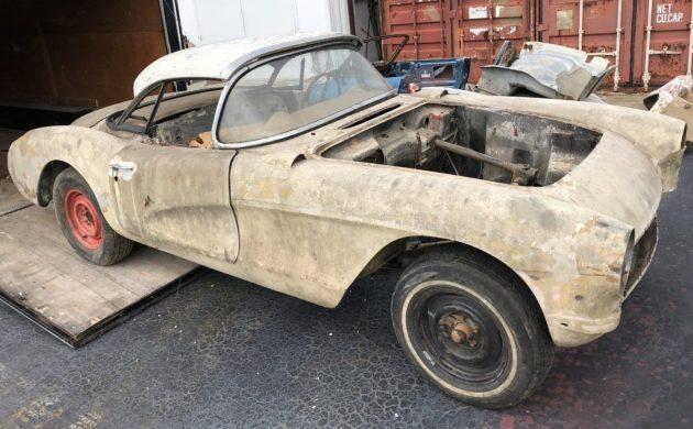 Potential Fuelie: 1957 Chevrolet Corvette