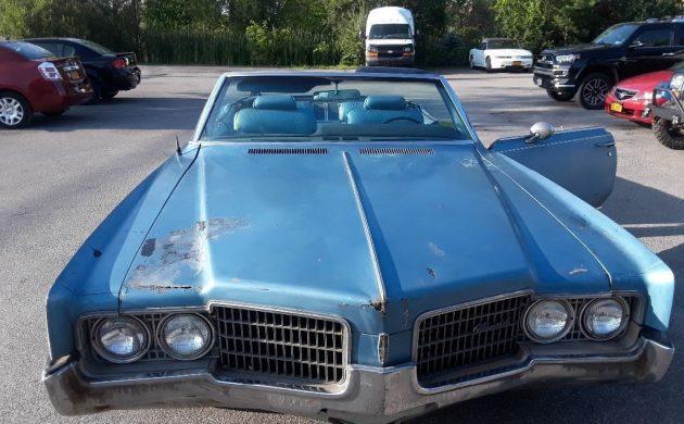 455 Convertible: 1969 Oldsmobile 98