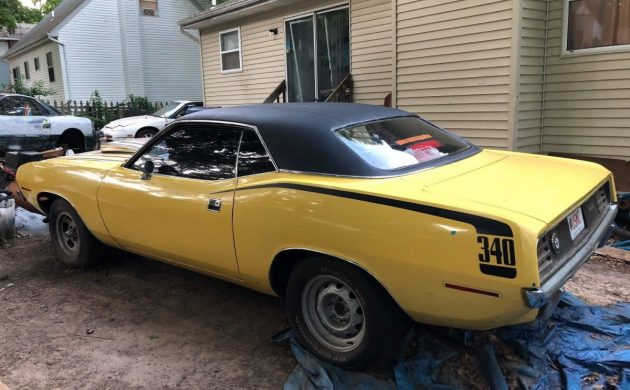 Ready To Roll: 1970 Plymouth Barracuda 340