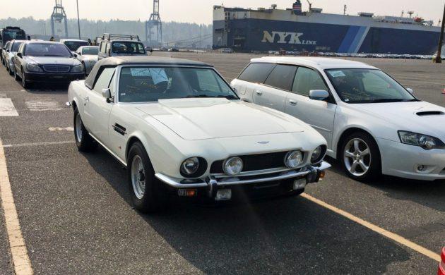 Port Sighting: Aston Martin Vantage