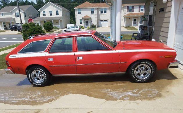 V8 Wagons Rule: 1976 AMC Hornet Sportabout